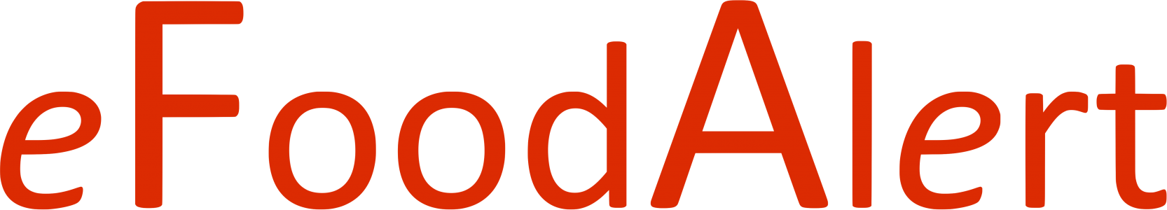 eFoodAlert